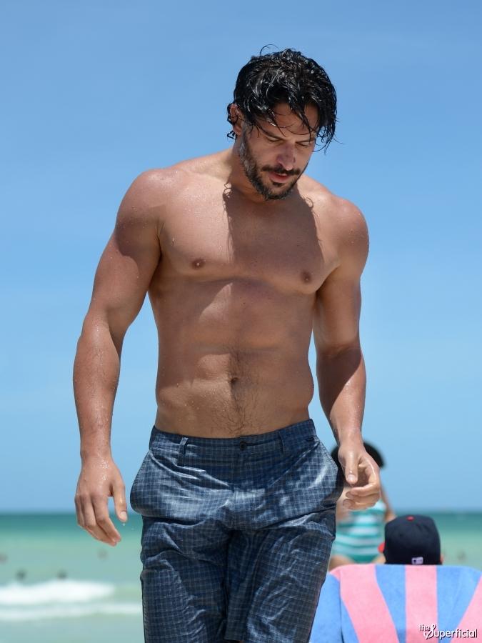 Joe Manganiello shirtless movie captures - Naked Male