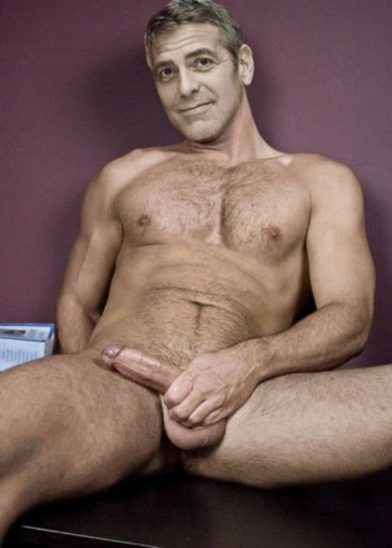 George clooney naked nude