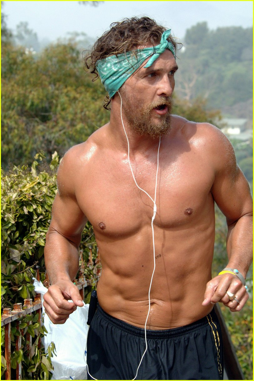 Pretty Matthew McConaughey - The Male Fappening