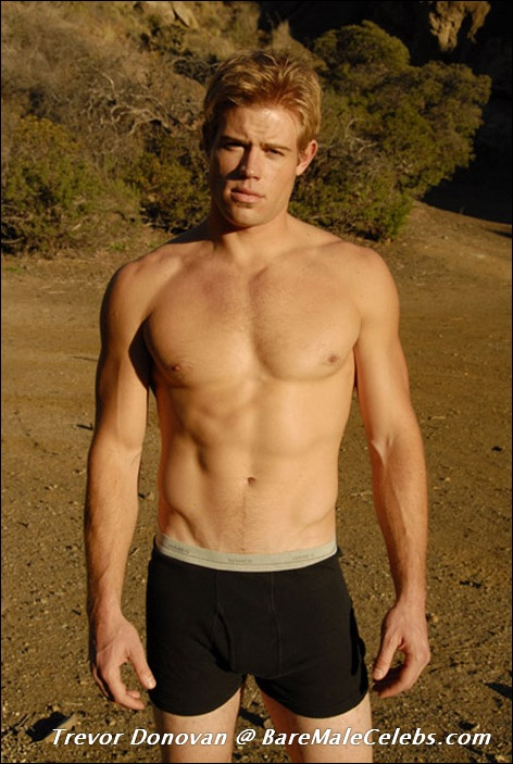 from Finley is trevor donovan really gay