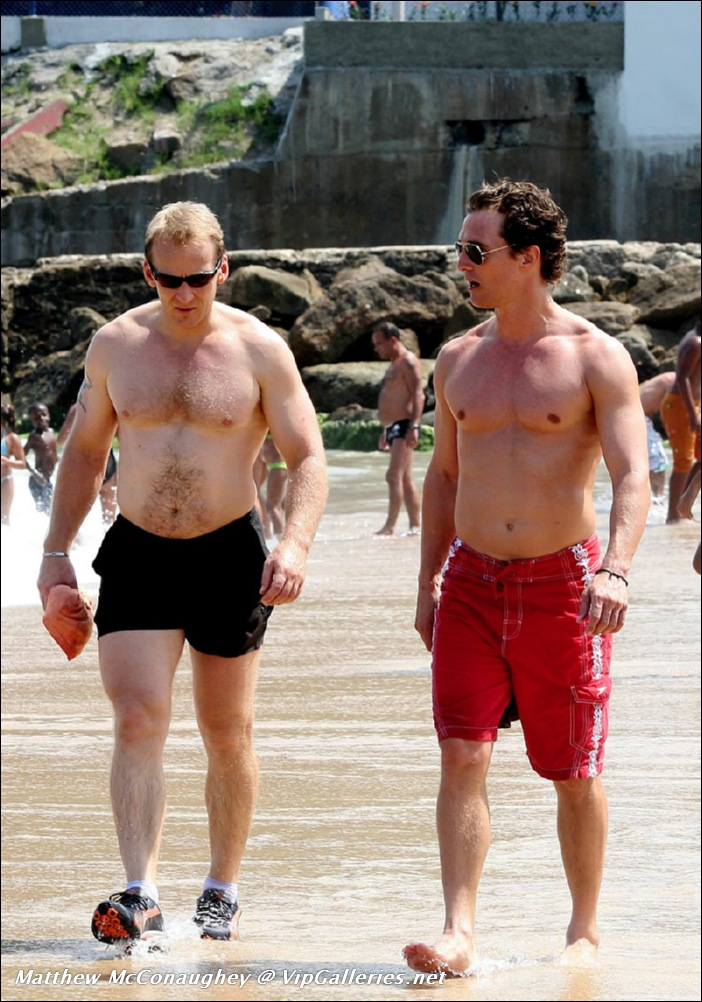 Matthew McConaughey And His Impressive Naked Butt - The