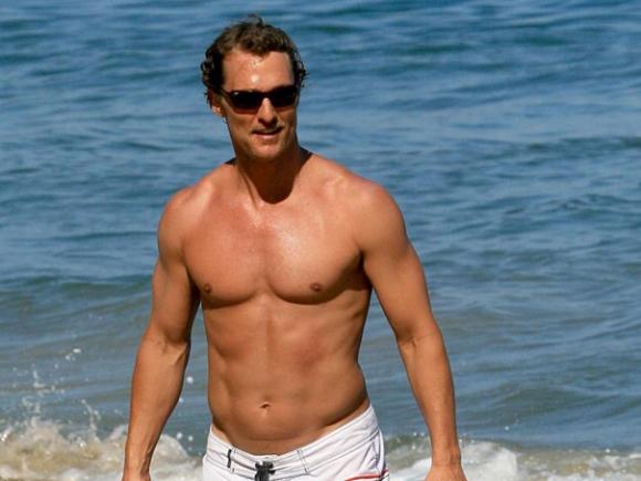 Matthew McConaughey various shortless vidcaps - Naked Male