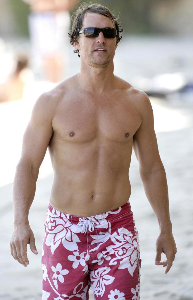 Matthew McConaughey shirtless gallery - Naked Male celebrities