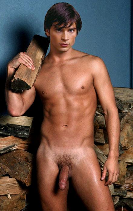 Naked man star